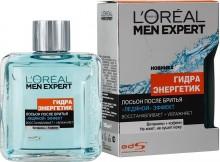 L`Oreal  Men Expert Гидра Энергетик Лосьон после бритья Ледяной эффект 100 мл