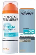 L`Oreal  Men Expert ГИДРА СЭНСИТИВ Пена для бритья 200 мл