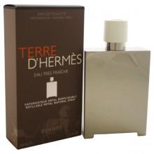 Hermes Terre D`hermes Eau Tres Fraiche Metal Remplissable